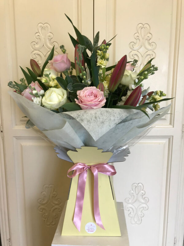 Cerise Flowers Bouquet Tramore Waterford Delivery 1
