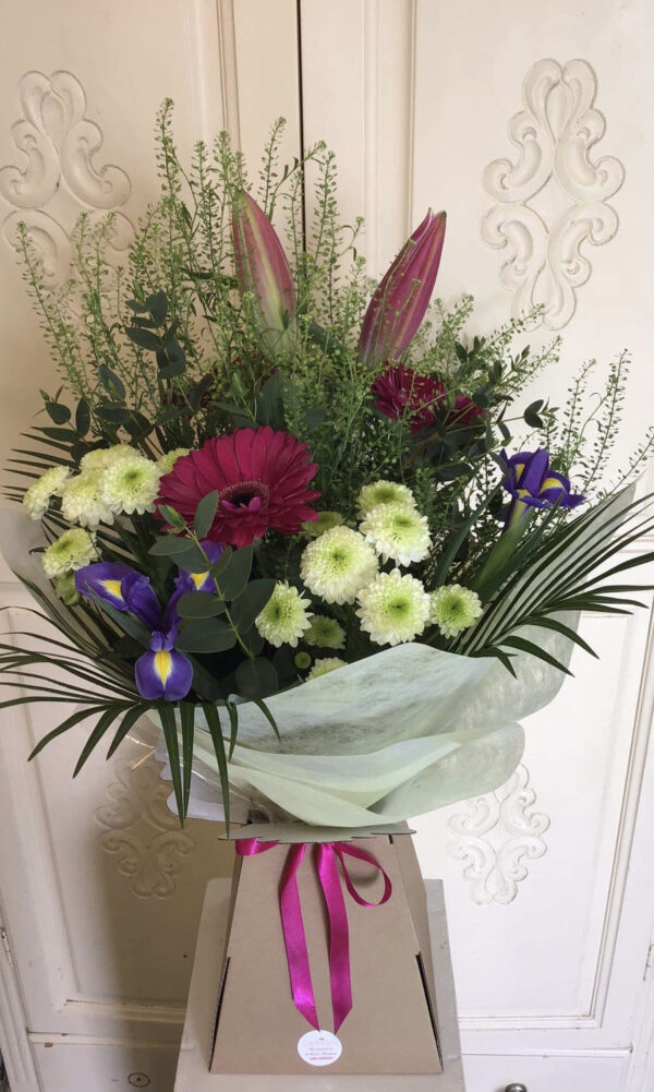Cerise Flowers Bouquet Tramore Waterford Delivery 11