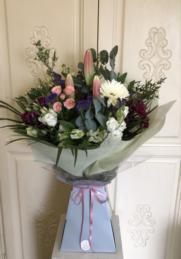 Cerise Flowers Bouquet Tramore Waterford Delivery 12