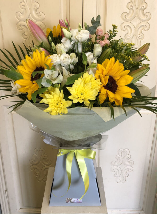 Cerise Flowers Bouquet Tramore Waterford Delivery 14