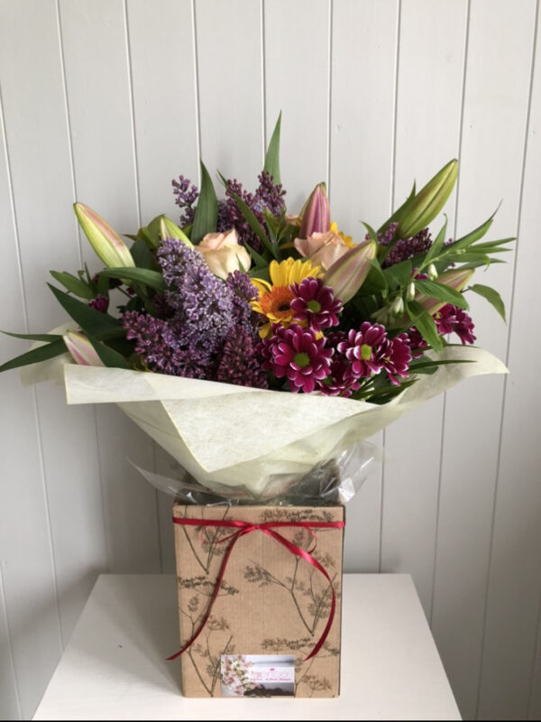 Cerise Flowers Bouquet Tramore Waterford Delivery 17