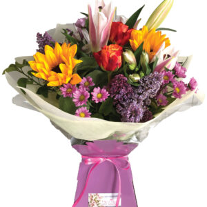 Cerise Flowers Bouquet Tramore Waterford Delivery 2