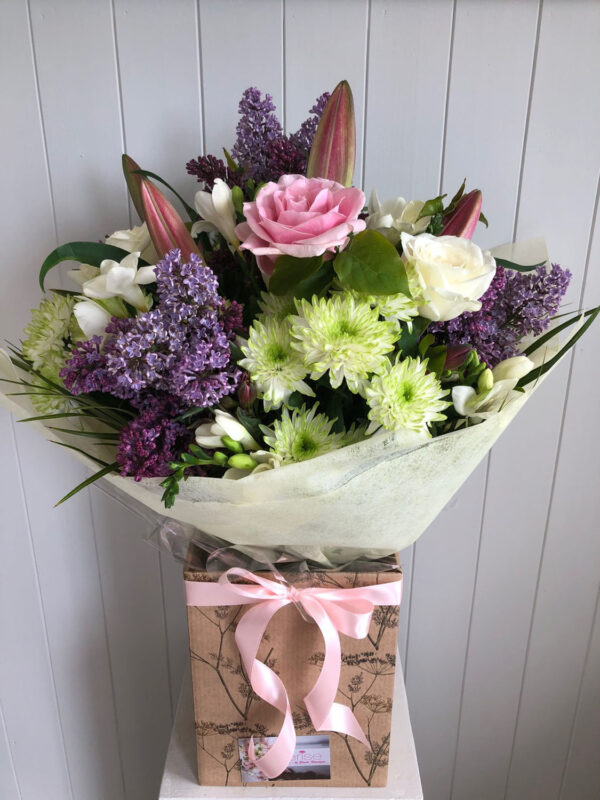 Cerise Flowers Bouquet Tramore Waterford Delivery 3