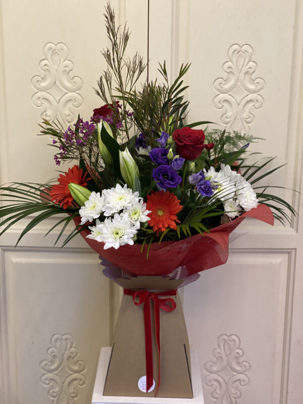 Cerise Flowers Bouquet Tramore Waterford Delivery 5