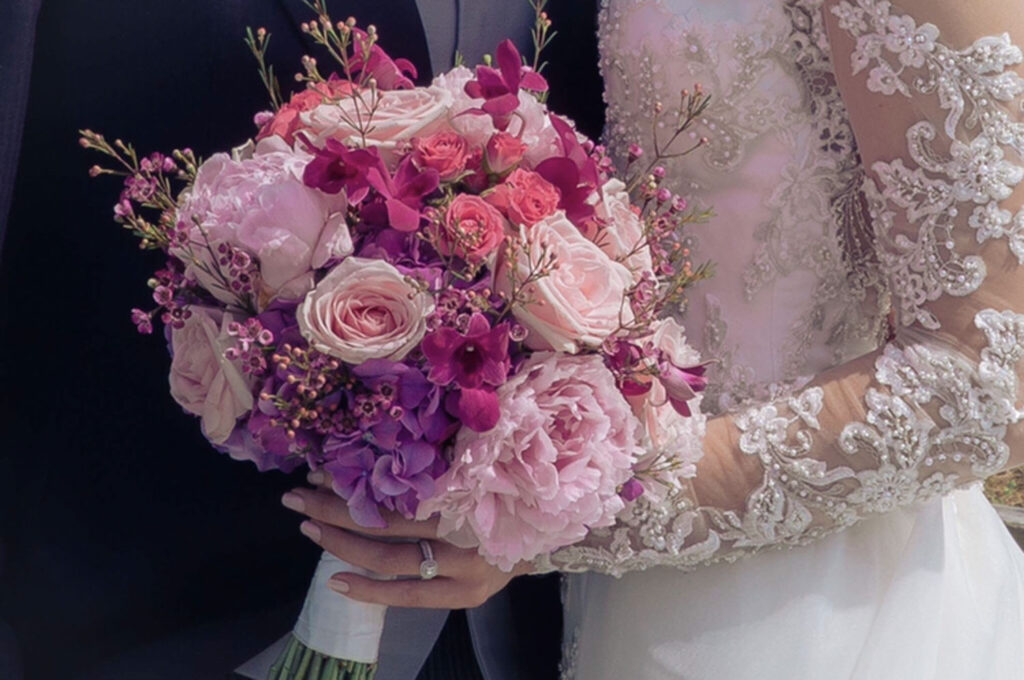 Cerise Flowers Weddings Tramore Waterford Delivery Bridal BrendaPatrick22