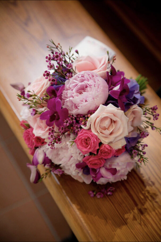 Cerise Flowers Weddings Tramore Waterford Delivery Bridal BrendaPatrick26