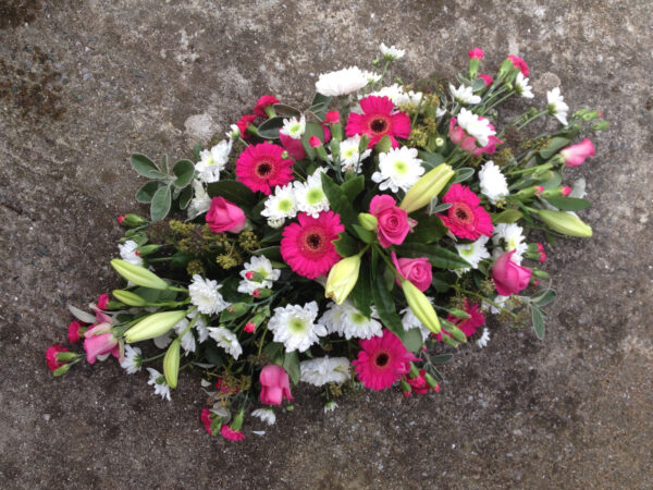 Funeral flowers Tramore Waterford coffin 04