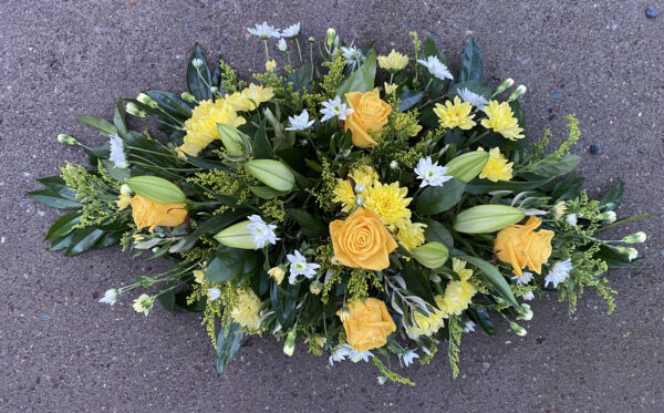 Funeral flowers Tramore Waterford coffin 08