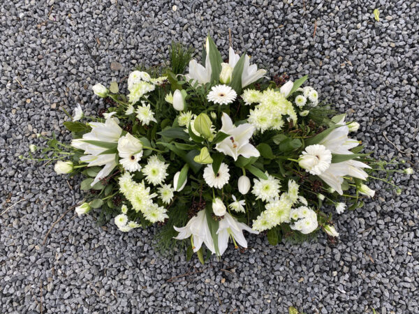 Funeral flowers Tramore Waterford coffin 09