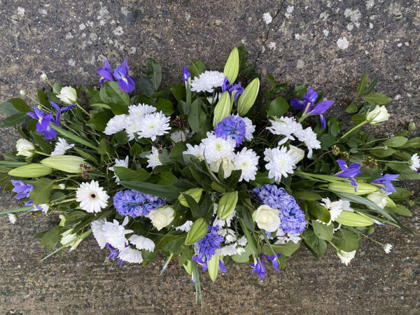 Funeral flowers Tramore Waterford coffin 10