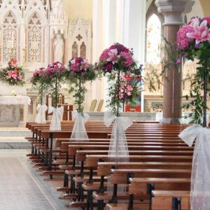 Wedding Flowers Waterford Tramore Bridal wedding florist tramore cerise flowers (11)