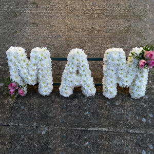 funeral flowers mum family florist tramore cerise flowers (2b)